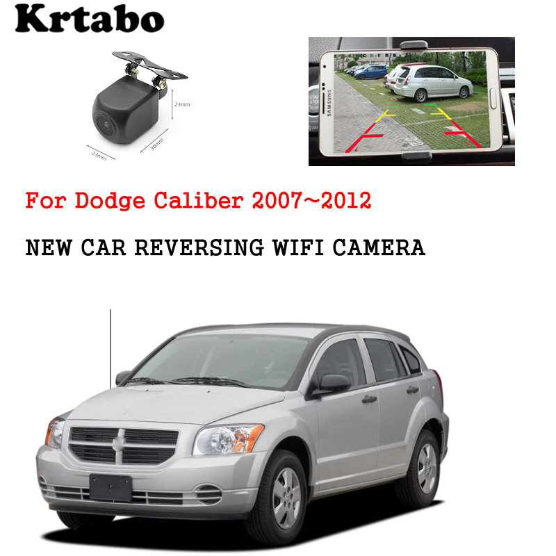 Car wireless rear camera For Dodge Caliber 2007~2012 car Night Vision reversing HD cam CCD night vision waterproof high qualit(China)
