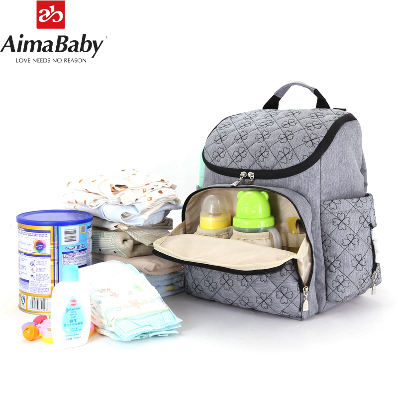 Colorland Baby Travel Mummy Maternity Changing Diaper Nappy Bag Backpack Baby Bags Handbag For Mom Daddy Bolso Maternal