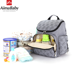 Colorland baby Travel Mummy Maternity Changing Diaper Nappy Bag Backpack Baby Bags Handbag For Mom Daddy Bolso Maternal(China)