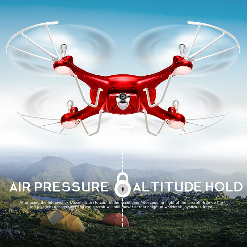 SYMA X5UW Drone with WiFi Camera HD 7P Real-time Transmission FPV Quadcopter 2.4G 4CH RC Helicopter Dron Quadrocopter Drones 8