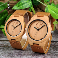 BOBO BIRD Personal Creative Design Logo MESSAGE Engraved Carved Customize Bamboo Wooden Watch Customization Items No