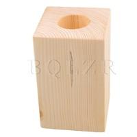 4cm Dia Round Hole Wood Furniture Lifter Bed Table Safa Riser Add 10cm BQLZR
