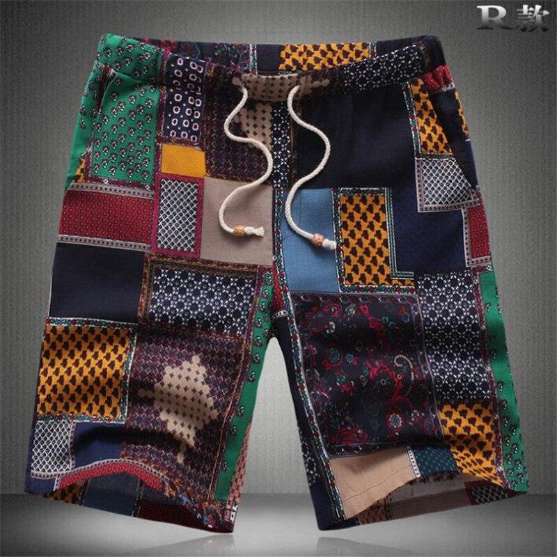 New Arrive Mens   Shorts   Board   Shorts   Summer Beach Homme Bermuda   Short   Pants Quick Dry Boardshorts 2019 New plus size M-6XL