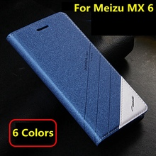 5 Colors For New Phone Meizu mx6 mx 6 Original Tscase Brand, Top Quality Leather Stand Flip Cover Magnet Case For Meizu MX 6 MX6
