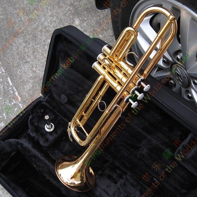 Taiwan Bach Original authentique Double plaqué argent LT180S37 Bb professionnel trompette instruments de musique étui embout en sourdine