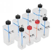 Fernbedienung Modell Zubehör Teile Transparent Kunststoff Kraftstoff Tank für RC Flugzeug 4,5mm Metall Luft Kraftstoff einlass RC Zubehör