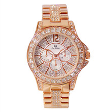 Dames horloges Lady Fashion Rose Gold Wrist Watch Women Famous Brand Golden Quartz Female Watches Relogio Feminino Montre Femme