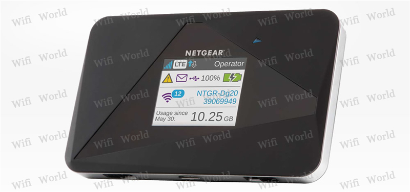 US $99.0  Unlocked Netgear AirCard 785S (AC785S) 150Mbps LTE Mobile Hotspot Dual band Wi Fi 2.4GHz5GHz 4G FDD 700900180021002600MHZ Wireless
