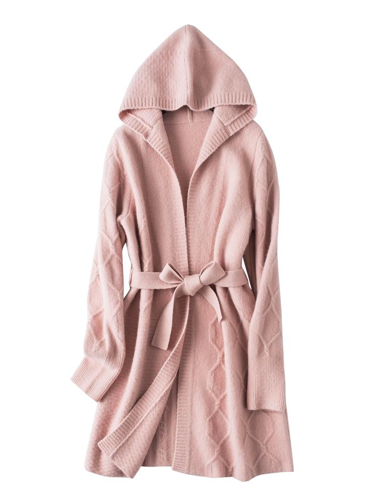 Abrigo pelo h&m rosa