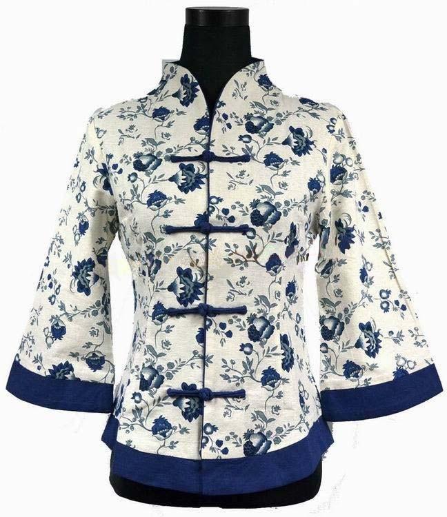 High Fashion Blue Vintage font b Women s b font font b Jacket b font Linen