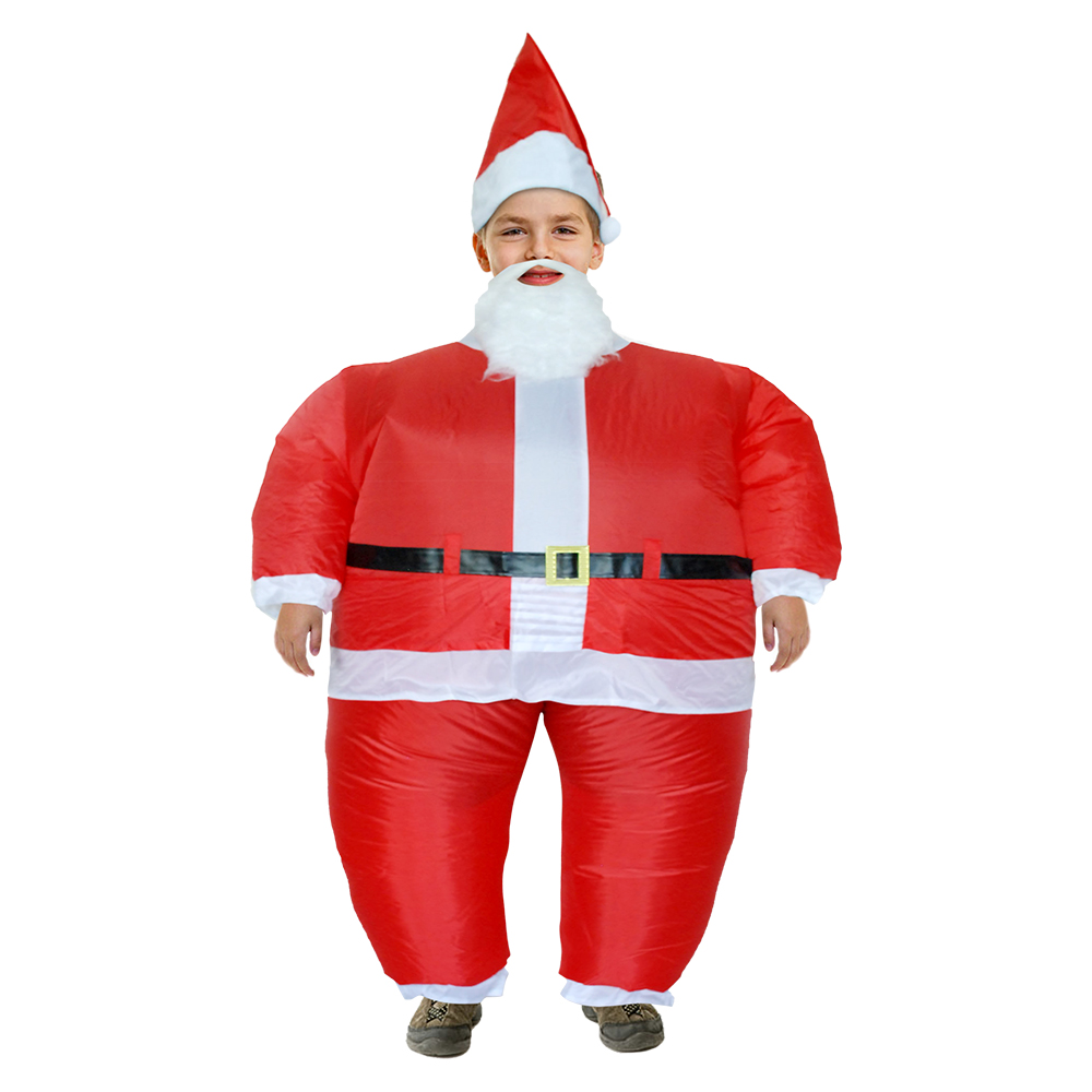 Inflatable Santa Claus Costume Carnival Father Christmas Disfraces Adultos Anime Cosplay Christmas Costume