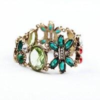 Min Order 10 Fashion Elegant Multicolor Shiny Plant Fashion Bracelet