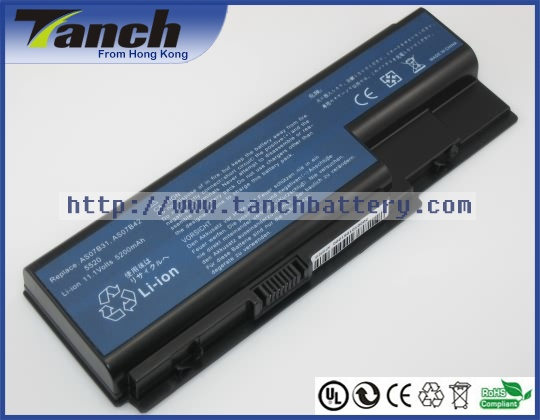 Laptop <font><b>batteries</b></font> for ACER AS07B41 AS07B72 Aspire 7220 5520G AS07B61 7540 5942 8730G 7735Z 5710Z TravelMate 7730 11.1V 6 cell
