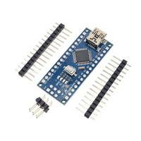 10PCS Promotion Funduino Nano 3.0 Atmega328 Controller Compatible Board for Arduino Module PCB Development Board without USB