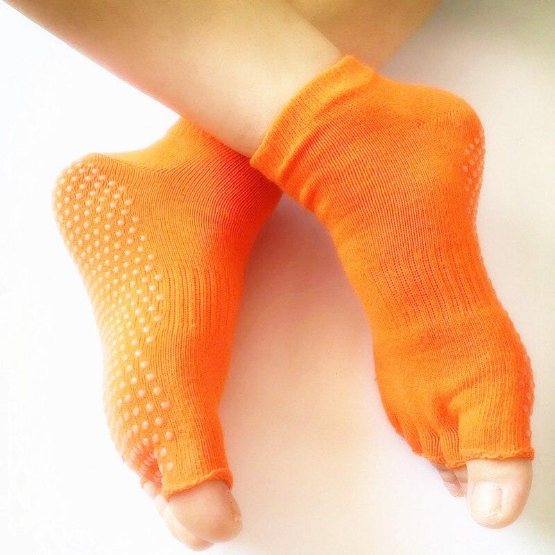 meias meia dedo do pé de silicone