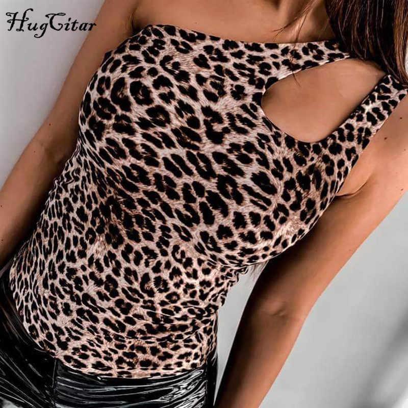 Hugcitar на одно плечо леопардовое леопард принтом принт сексуальные комбидресс бодисьют 2019 летнее летний лето женское женские женщин мода облегающее обтягивающее обтяжку клубное уличная одежда female боди