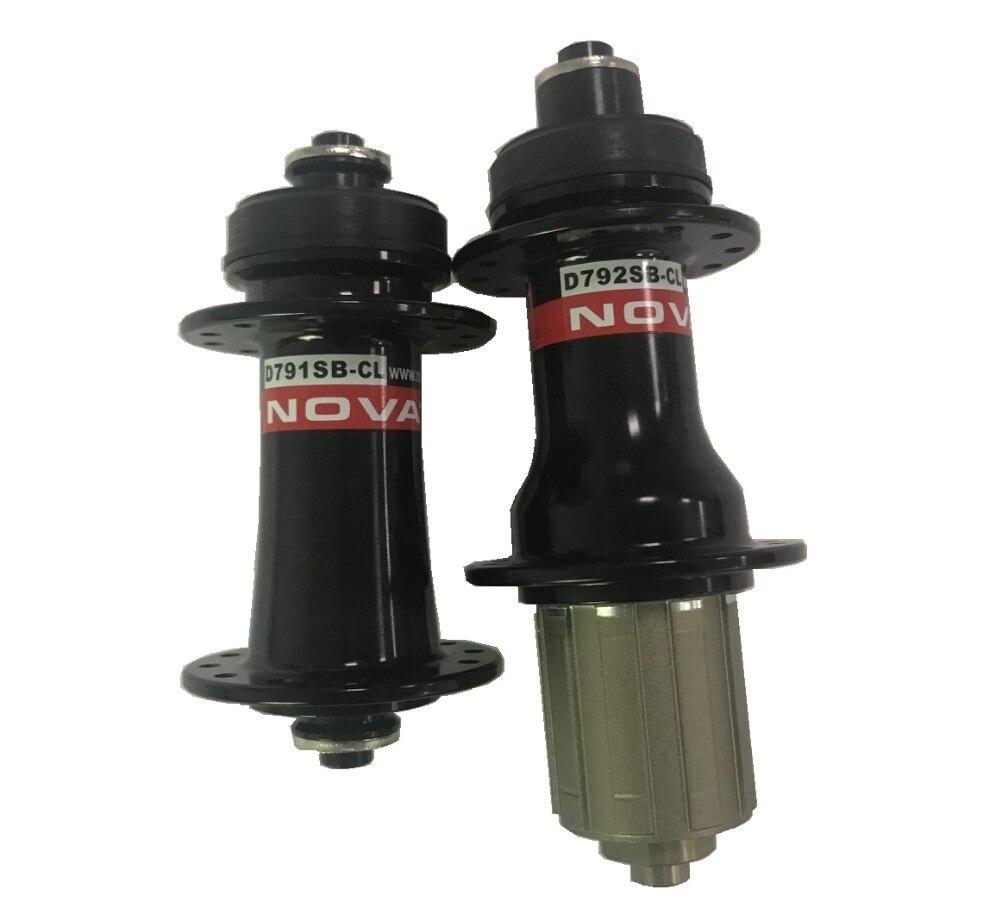 Novatec D791SB CL D792SB CL center lock disc brake MTB hubs thru axle or QR version 24/28/32 holes MTB bicycle hubs