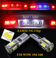 2pcs  T10  SAMSUNG  LED License Plate Light Lamp Bulb For Nissan Qashqai Bluebird Teana Sunny Tiida X-Trail  Lefiro