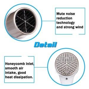 Image 2 - Настенный электрический фен для волос, 2 режима, Регулируемый Usb разъем, для отеля, дома и ванной