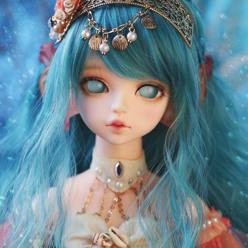 OUENEIFS bjd/sd Dolls Soom Serin Rico mermaid 1/4 body model reborn girls boys eyes High Quality toys makeup shop resin 1 4 scale bjd lovely cute bjd sd human body kid serin
