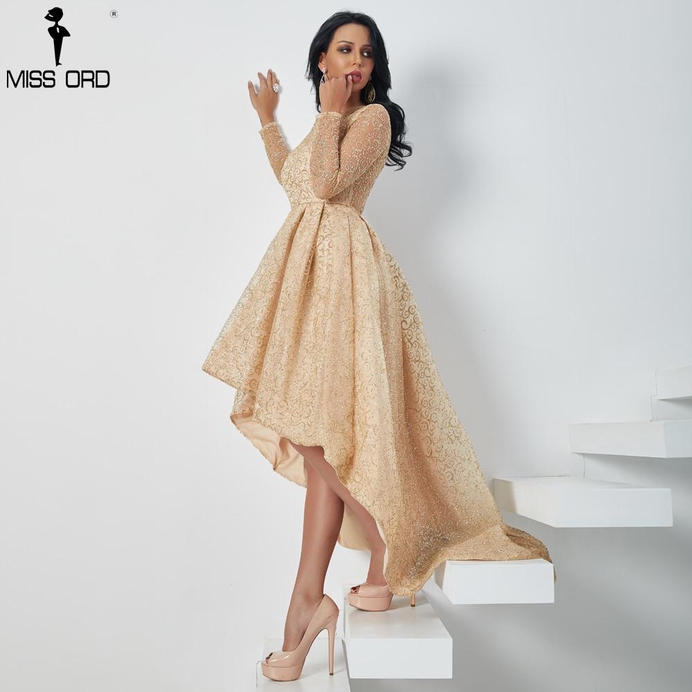 Missord 2020 Women Sexy O Neck Long Sleeve Glitter Dresses Female Evening Party Maxi Elegant Dress Vestdios FT18495