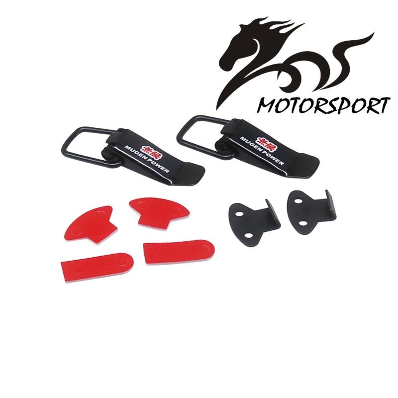 Universal Sicherheit mugen Haube Lock Clip Kit Quick Release Haken Lock Clip Für Racing Auto Lkw Zubehör große größe