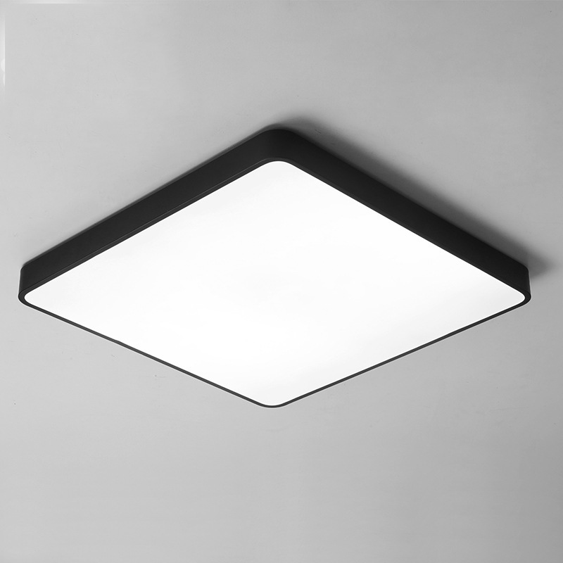 Modern Ceiling Lights Ultra Thin Square Led Lamp Luminaria Kitchen Light Fixtures Living Room Dining Surface Mount
