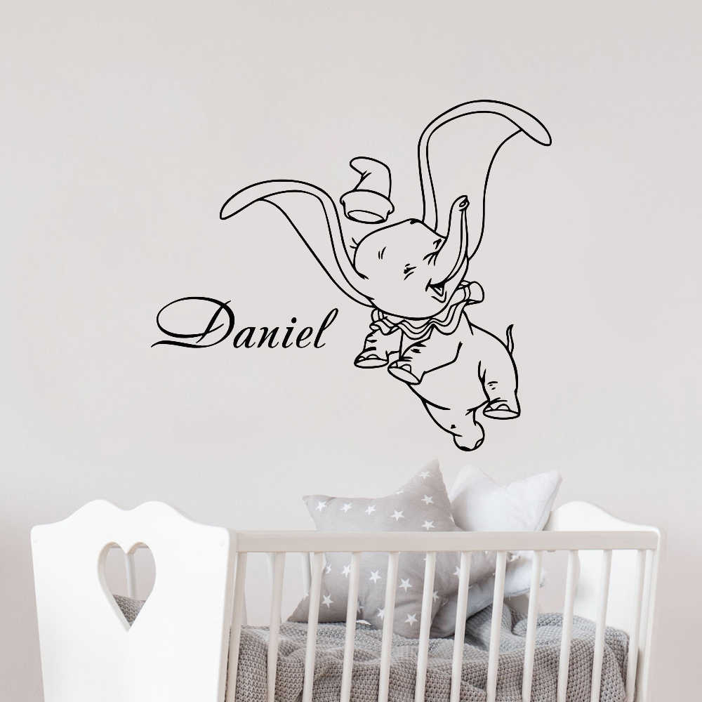Any Name Vinyl Wall Decals Nursery