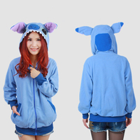 2015 New Cosplay Kawaii Animal Hoodie Anime Minions Hoodies Women Men Jacket Sweatshirt XL Plug Size