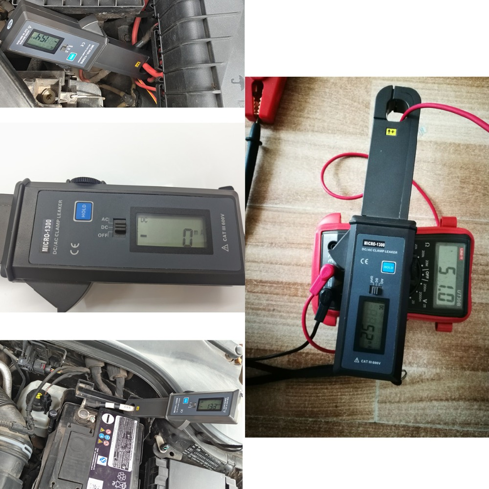 Lancol MICRO-1200s Auto Diagnostic Tool Leakage Current Tester with High Accuracy Current Clamp Resolution 1MA etcr030 high accuracy clamp leakage current sensor