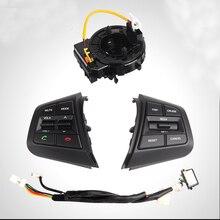 Для ix25 (Creta) кнопки управления руль часовая пружина канал кнопки управления bluetooth аудио