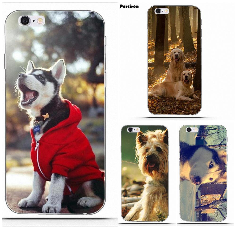 TPU Patterns <font><b>Siberian</b></font> <font><b>Husky</b></font> With Wood For Huawei Nova 2 V20 Y3II Y5 Y5II Y6 Y6II Y7 Y9 G8 G9 GR3 GR5 GX8 Prime 2018 2019 image