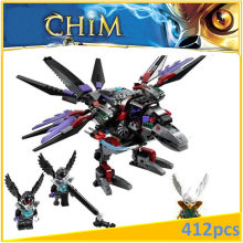 Razar's CHI Raider 70012 Building Blocks Model Toys For Children BELA 10060 Compatible legoed Chimaed Bricks Figure Set(China)
