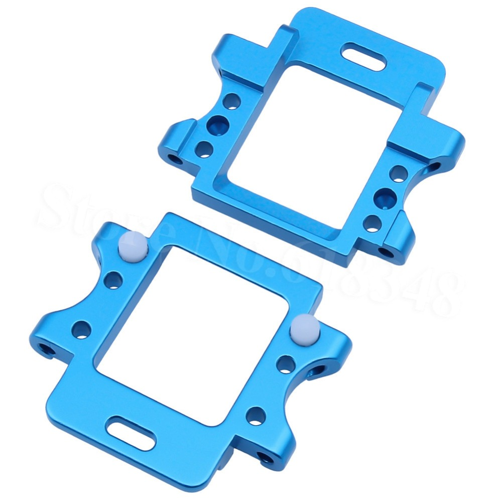 102260 102261 Aluminium voor en achter versnellingsbak Armsteun - Radiografisch bestuurbaar speelgoed