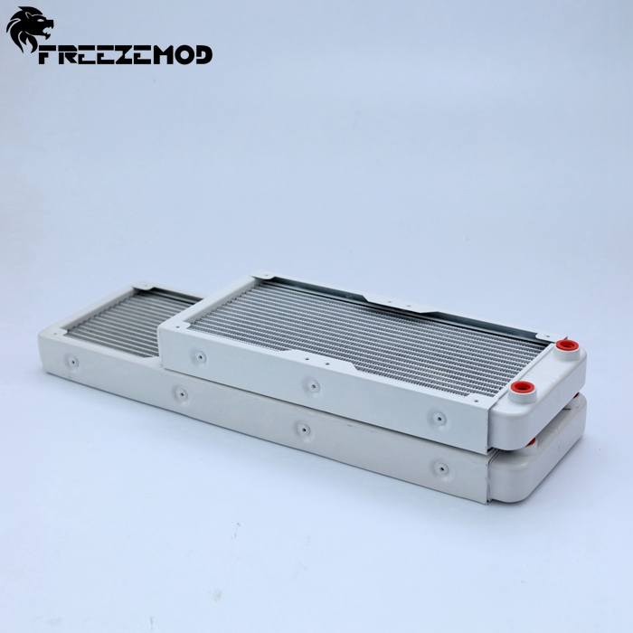 FREEZEMOD 240mm Aluminum Computer Water Liquid  Radiator For 2*12cm Fan. SR-LPZJ240