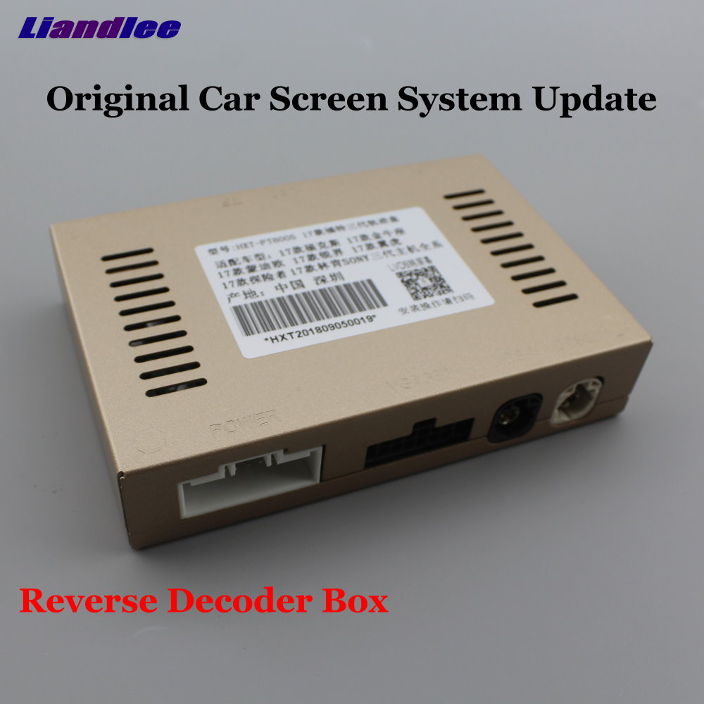Liandlee For Ford Kuga 2017 Original Screen Update System Car Rear Reverse Parking Camera Digital Decoder Reversing system in Vehicle Camera from Automobiles Motorcycles