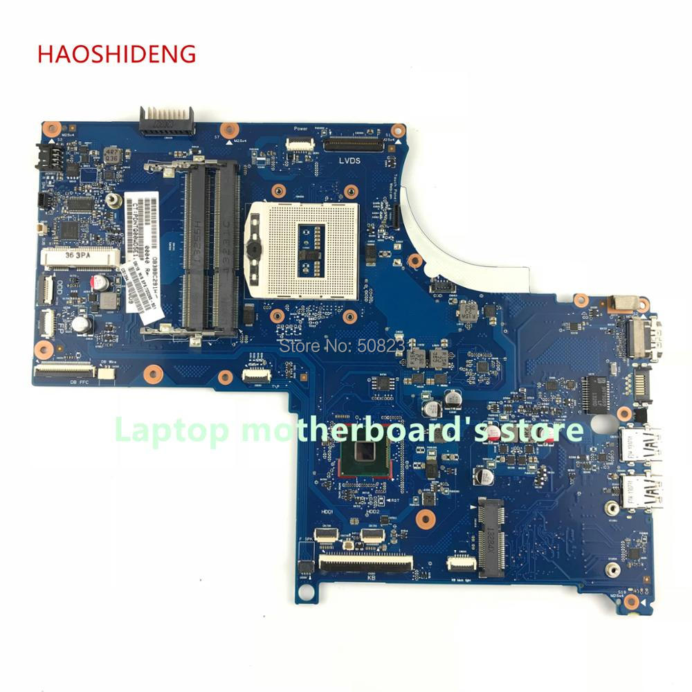 HAOSHIDENG 720265-501 6050A2549501-MB-A02 for HP ENVY 17-J M7-J laptop motherboard with HM87 PGA947 All functions fully Tested free shipping 765736 501 for hp envy 15 q 15t q motherboard with sr1pz i7 4712hq gtx 850m 4gb all functions 100