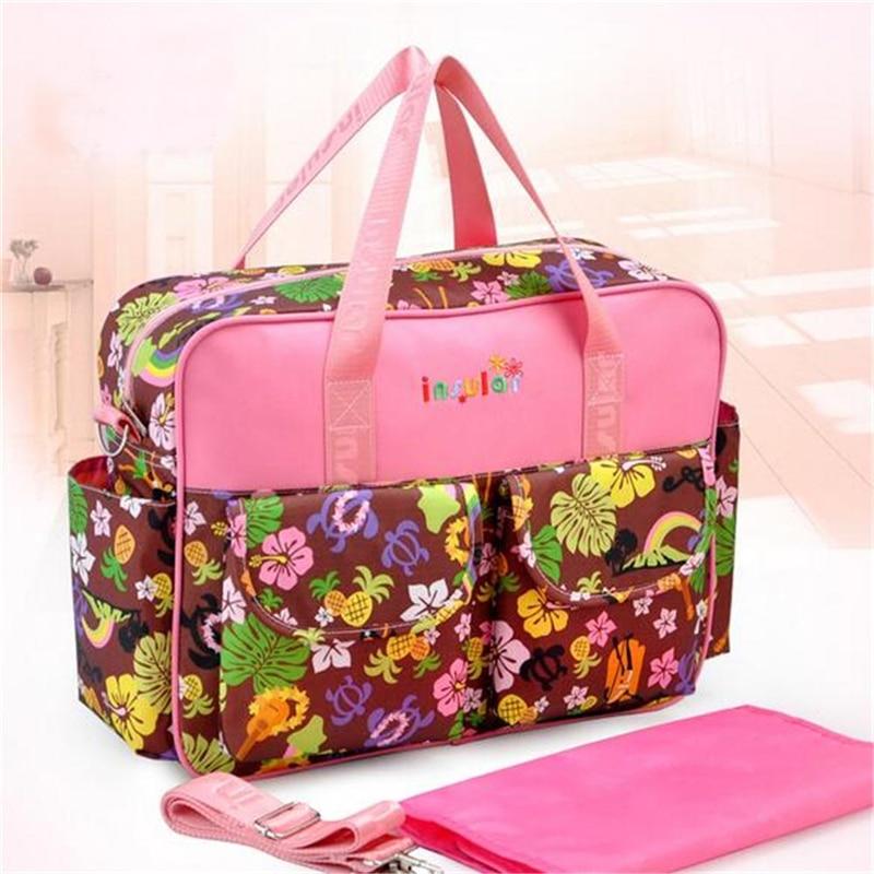 HTB1.ksHLFzqK1RjSZFvq6AB7VXaN Mummy Maternity Nappy Bag Stroller bolsa Large Capacity Baby Travel Backpack Mommy Nursing Bag Baby Care Changing Diaper Bag