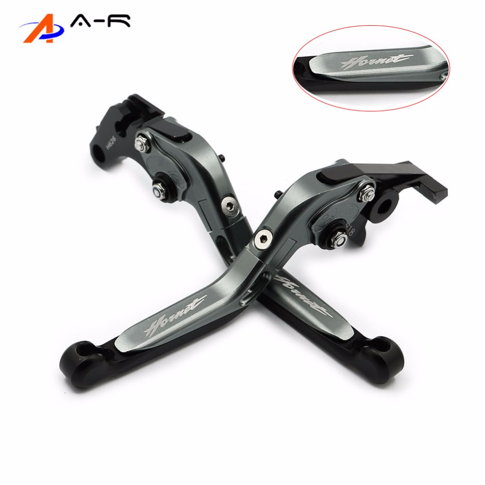 For Honda CB599 98-06 CB600F <font><b>HORNET</b></font> <font><b>600</b></font> 1998-2006 CNC Foldable Extendable Brake Clutch Levers 1999 2000 2001 2002 2003 2004 <font><b>2005</b></font> image