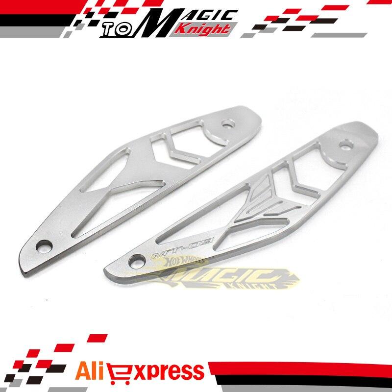 1 Unidades Accesorios de La Motocicleta DEL CNC De Aluminio 3D Logo Cubierta de