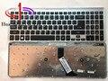 90% НОВЫЙ Оригинальный Для Acer V5-571 клавиатура Ноутбука клавиатура США Версия Черный С серебряной оправе