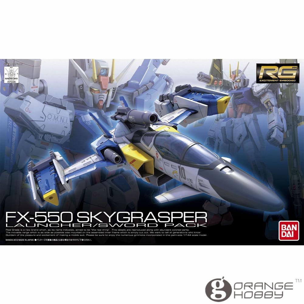 OHS Bandai RG 06 1 144 FX 550 Sky Grasper Launcher Sword Pack Assembly plastic Model