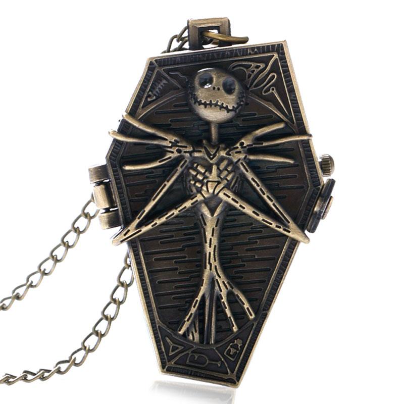 Bronze Retro Jack Skellington Halskette Der Albtraum Vor Weihnachten ...