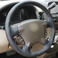 הונדה crv crv גלגל יד-תפר הגה עור Top על הונדה CRV גלישת כיסוי CRV 2003-06 (4)