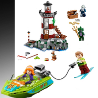 10431 Haunted Lighthouse Scooby Doo Mysterious Ghost House Building Blocks Brick Compatible legoings Children Gift 75904