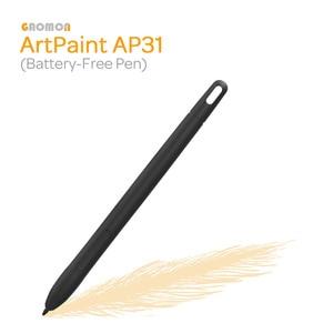 Беспроводной художественный стилус GAOMON ArtPaint, без батареи, для графического планшета GAOMON M10K, версия 2018 года, с уровнем защиты от батареек, тол...