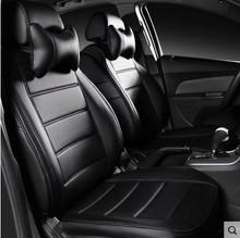 цены на customize car seat covers leather cushion seats cover set for Chevrolet Cruze Malibu Aveo Captiva Sail Camaro Encore Buick Regal