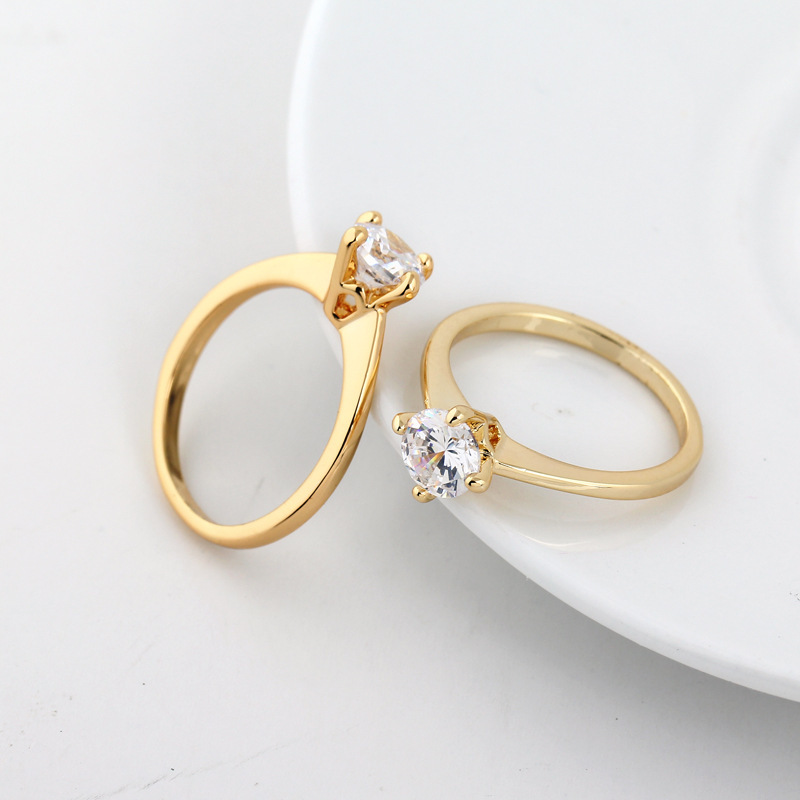 Fresh Simple Gold Ring Latest Design | Jewellry\'s Website
