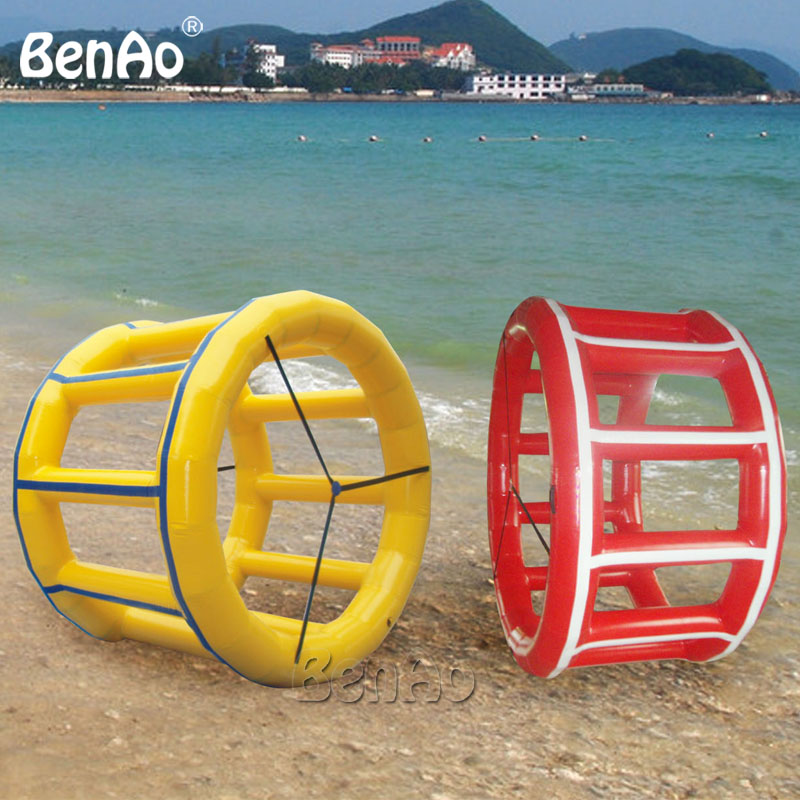WB029  inflatable zorb ball/inflatable water roller ball/inflatable water wheel for kids and adult,Inflatable Water Park for 1pc funny summer inflatable water games inflatable bounce water slide with stairs and blowers