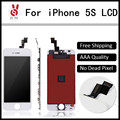 10PCS/LOT A+++ Quality For iPhone 5S LCD Display With Touch Screen Digitizer Assembly DHL Free Ship OEM